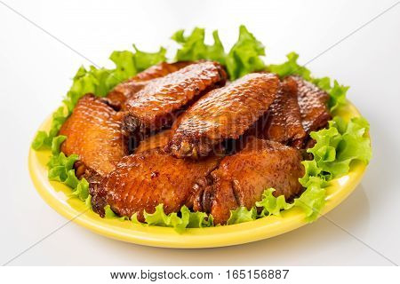 Braised duck gizzard Chinese cuisine of ..