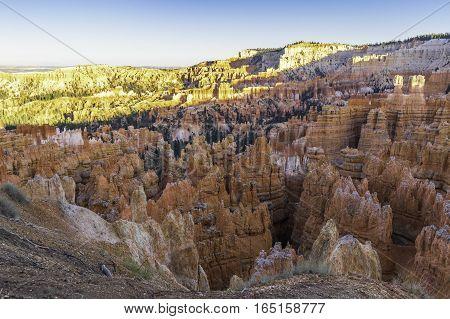 Bryce Canyon National Park Hoodoos in Shadow