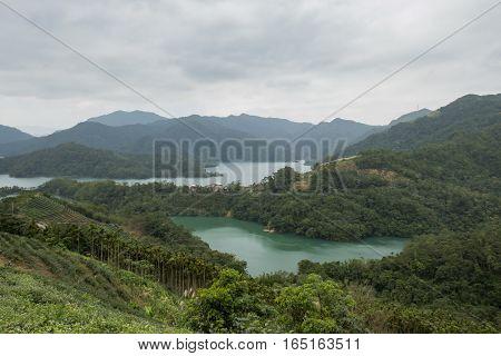 The Beautiful Thousand Island Lake Of Taiwan