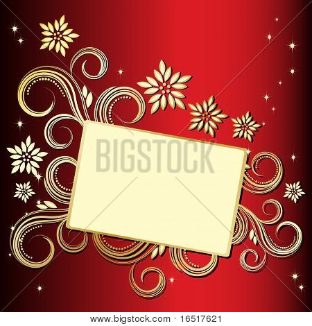 JPG Holiday floral background