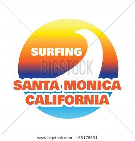 California typography, sport t-shirt graphics, vector illustration