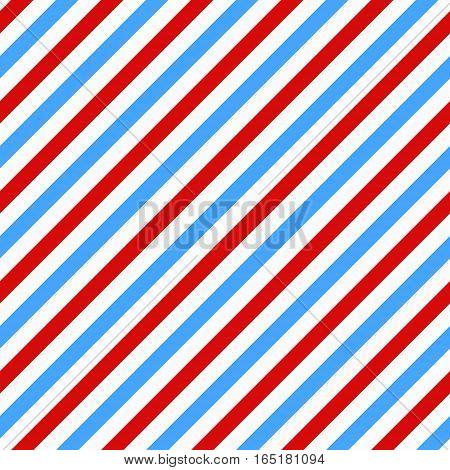Barbershop seamless pattern. Vector bright barber pole seamless texture