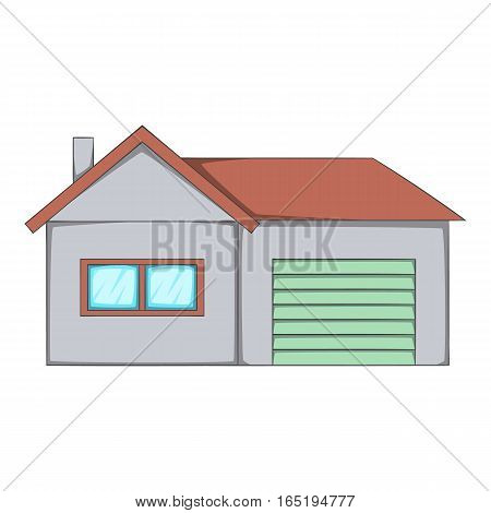 House icon. Cartoon illustration of house vector icon for web