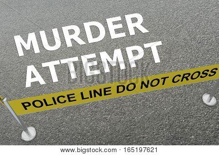 Murder Attempt Concept