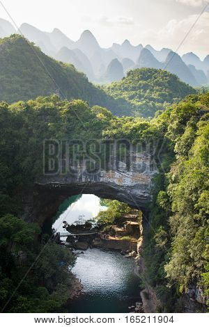Stunning scenery of Guangxi province in China
