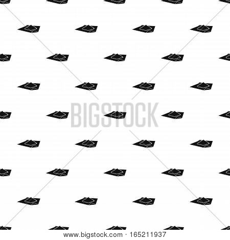 Marijuana on a paper pattern. Simple illustration of marijuana on a paper vector pattern for web
