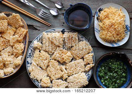 Vietnamese Street Food, Com Chay Cha Bong