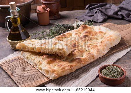 Focaccia Romana Bread