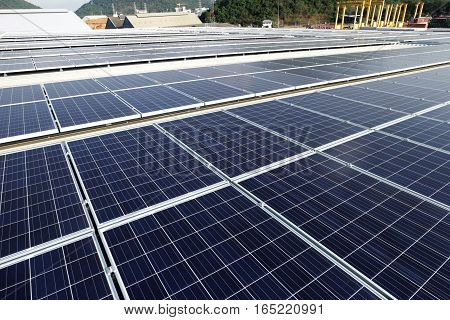 Large Scale Solar PV Rooftop Power Station