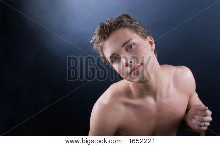 Young Beautiful Man