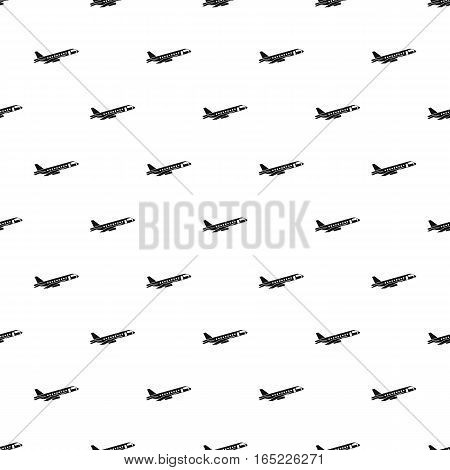 Passenger airliner pattern. Simple illustration of passenger airliner vector pattern for web