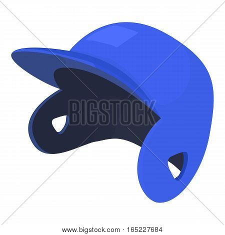 Baseball cap icon. Cartoon illustration of baseball cap vector icon for web