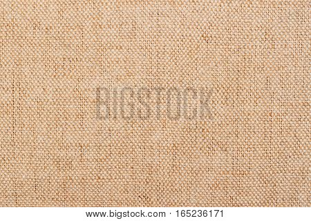 Fabric texture background, calm beige color fabric