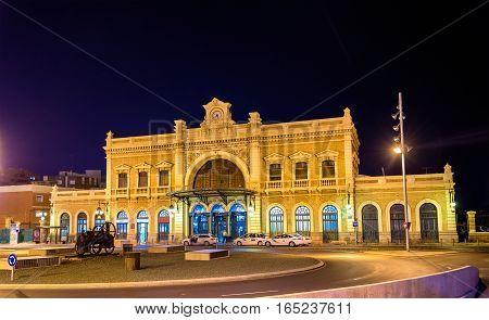 Train station of Cartagena - Spain, Region of Murcia