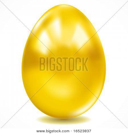 One big golden easter egg.