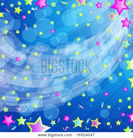 Eps10 vector beautiful funny party background.