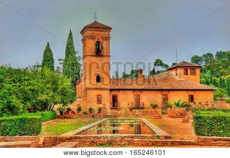 Parador de San Francisco at the Alhambra in Granada, Spain