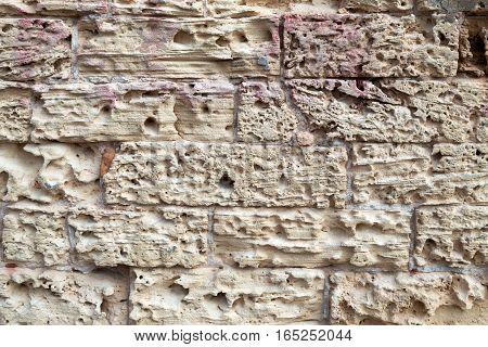 Stone sandstone background in daylight wallpaper elegant
