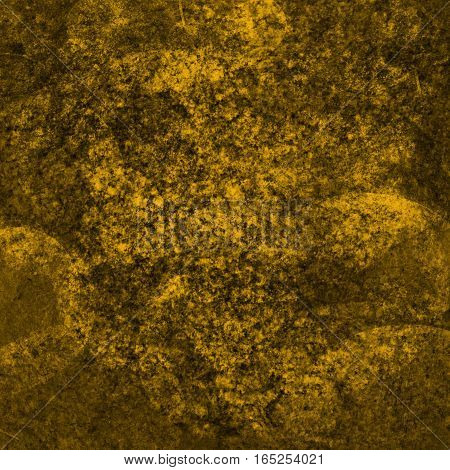 abstract bright colored scratched grunge background - yellow