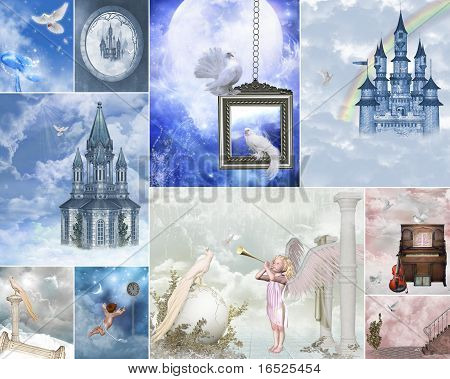 heaven gate collage