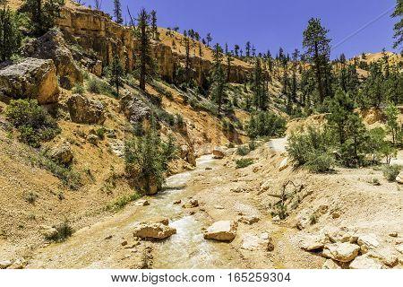 Sheep Creek Bryce Canyon National Park in Utah