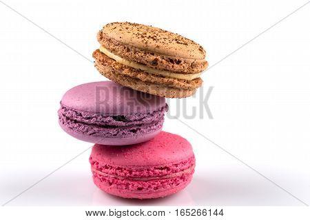 Tasty Colorful Macaroon