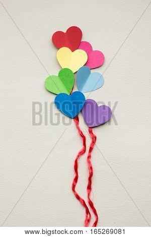 Heart Balloons.