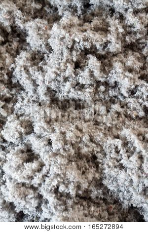 eco-friendly cellulose insulation made from recycled paper for building constructions, insulation for walls, ceiling insulation, insulation for floors, warm house, heat preservation, energy saving
