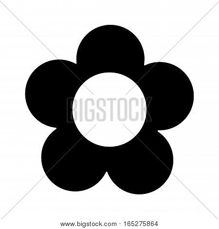 cute flower garden isolated icon vector illustration design