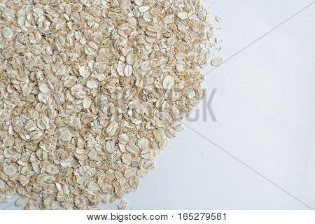 background oat groats. Healthy eating for breakfast