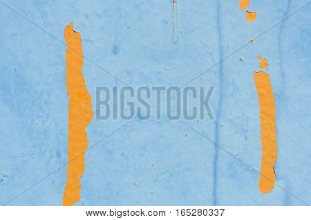 Abstract background texture. Blue and orange pattern