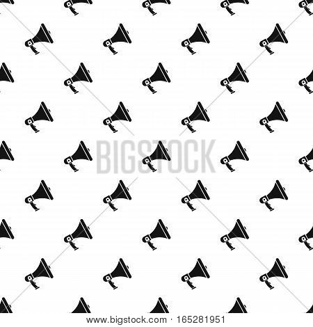 Mouthpiece pattern. Simple illustration of mouthpiece vector pattern for web design