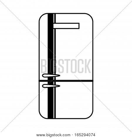 fridge home appliance icon vector illustration design