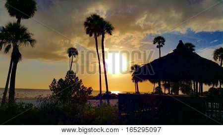 South Tampa Bay Florida Beach Sunset Photo