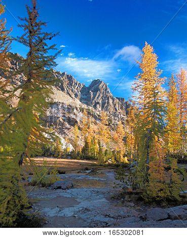 Ingall's Peak, Alpine Lakes Wilderness, Washington State