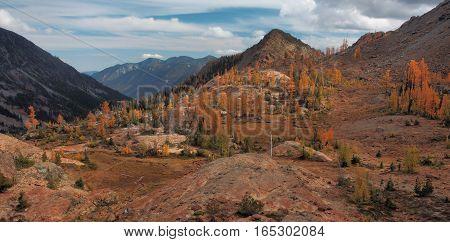 Ingall's Lake Basin, Alpine Lakes Wilderness, Washington State