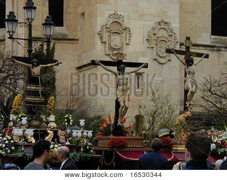 March 30 2010 Segovia Spain Holy Week
