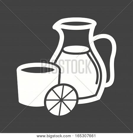 Sangria, red, juice icon vector image. Can also be used for european cuisine.