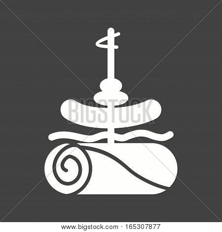 Tapas, food, bread icon vector image. Can also be used for european cuisine. S