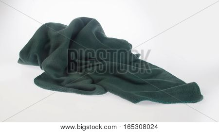 Blanket Or Soft Warm Blanket On Background.