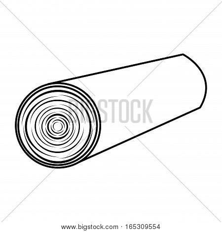 wooden logs resource icon vector illustration design
