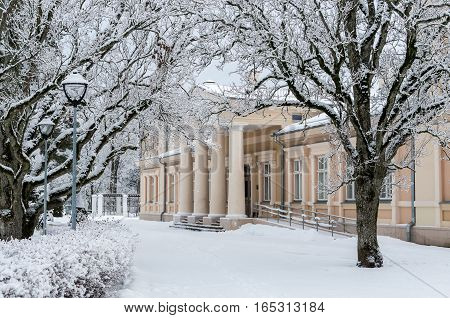 Old Palace In Winter