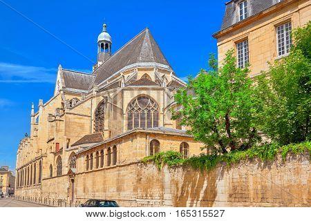 Saint-Etienne-du-Mont is a church in Paris France located on the Montagne Sainte-Genevieve near the Pantheon. France.