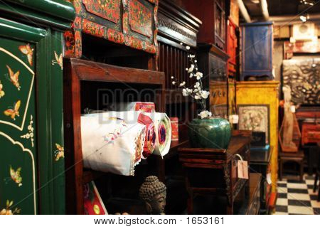 Asian Antique Furniture Store