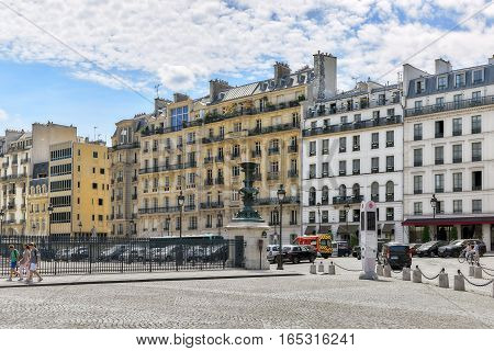 Paris, France - July 08, 2016 : City Views Of One Of The Most Beautiful Cities In The World-paris. S