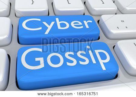 Cyber Gossip Concept