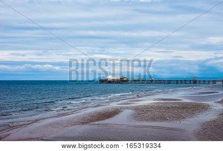 Pleasure Beach In Blackpool (hdr)