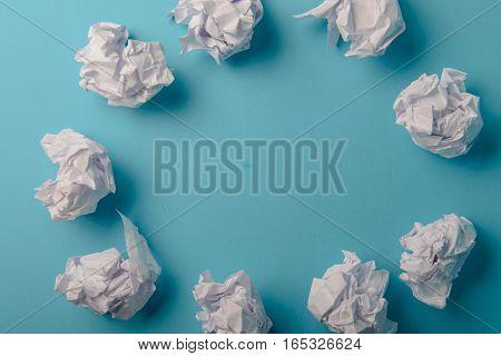 Crumpled Paper Ball