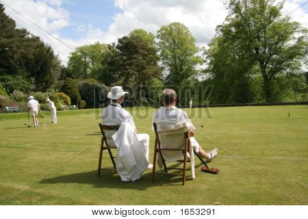 Watching The Croquet