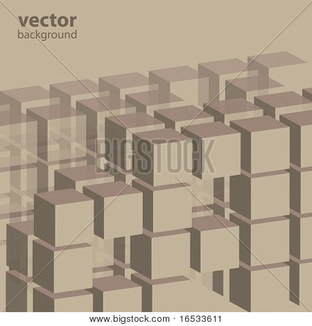 Cube Business Template Background